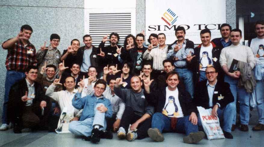 Primera reunión Linuxera en Madrid