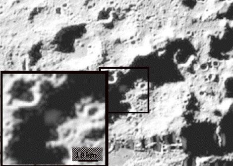 detección de agua en La Luna.
