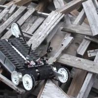 Robot diseñado para salvar una escombrera.