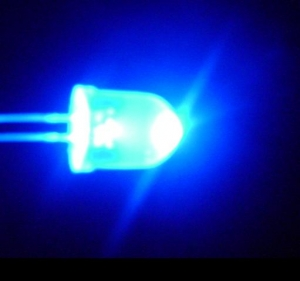 Luz azul bactericida.