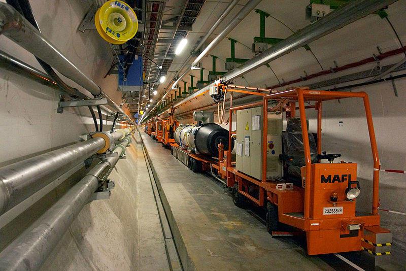 Tunel del LHC