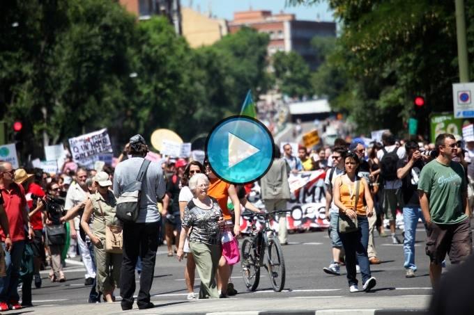 Vídeo del 19J en Madrid (Embajadores-Atocha-Neptuno)