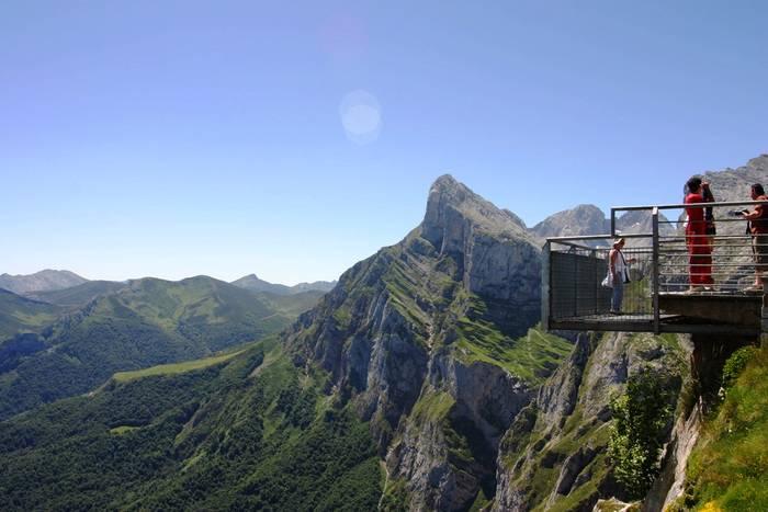 Mirador del teleférico de Fuente Dé. (Picos de Europa)