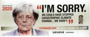 Alemania Angela Merkel. I'm sorry.