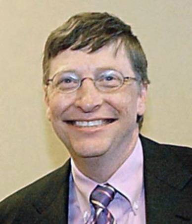 El simpático Bill Gates