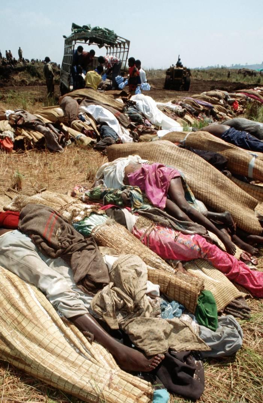 Resultado de una epidemia de Cólera en un campo de refugiados de  Ruanda.