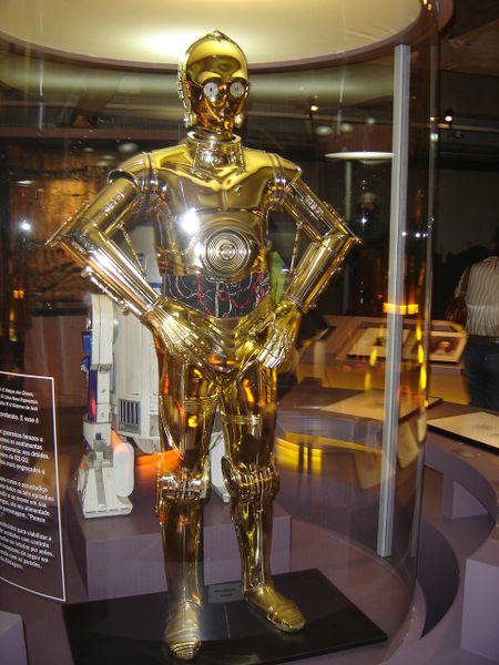 C-3PO armadura.
