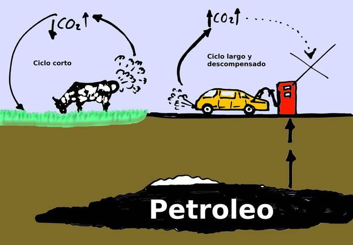 ¿Quién contamina más un coche o una vaca?