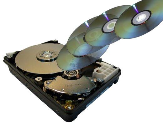 El disco duro empieza a competir con el DVD.