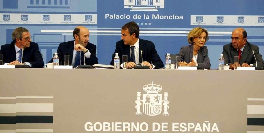 Este es parte del gobierno de España. (no cabe todo en la foto)