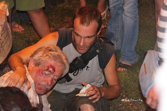Violencia policial.