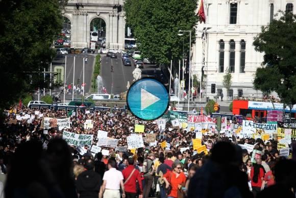 Manifestacion 15m-2011 Democracia Real Ya Parte1