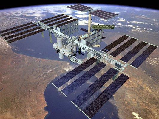 Recreación virtual de la Estación Espacial Internacional