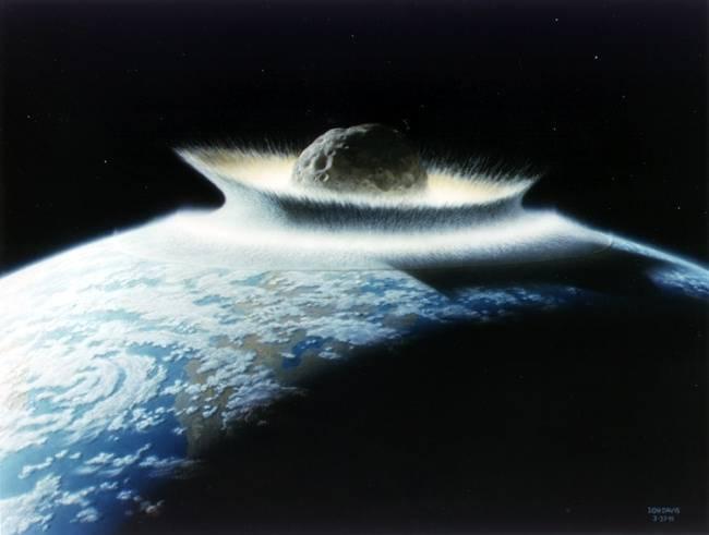 Un asteroide sería un posible final, pero va a ser que no.