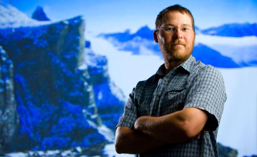 Jason Briner ha recabado datos climáticos relativos a los últimos 200.000 años.
