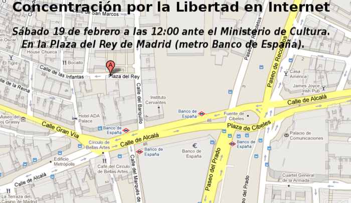 Manifestación 19F en Madrid