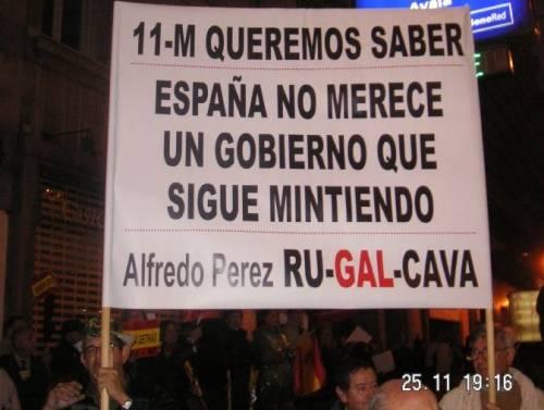 Manifestación de la AVT 25 Nov 2006.