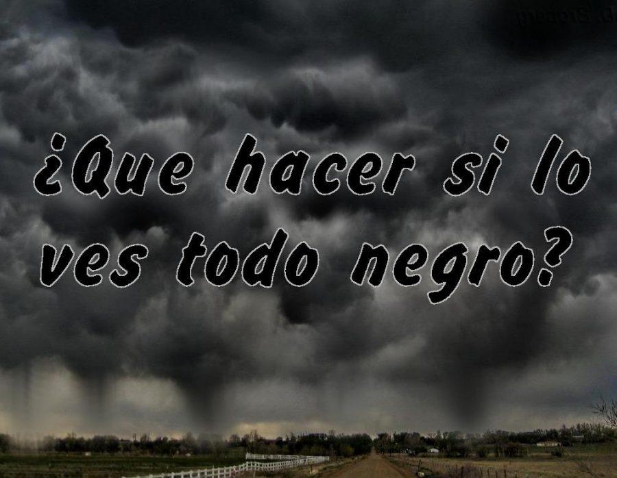 Negros nubarrones