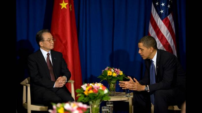 Desencuentro de China y EE.UU. en la XV Conferencia Internacional sobre el Cambio Climático en Copenhague.