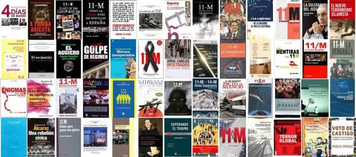 Algunas Portadas de Libros sobre el 11M