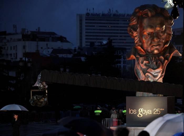 Retransmisión de los premios Goya 2011 (25 aniversario)
