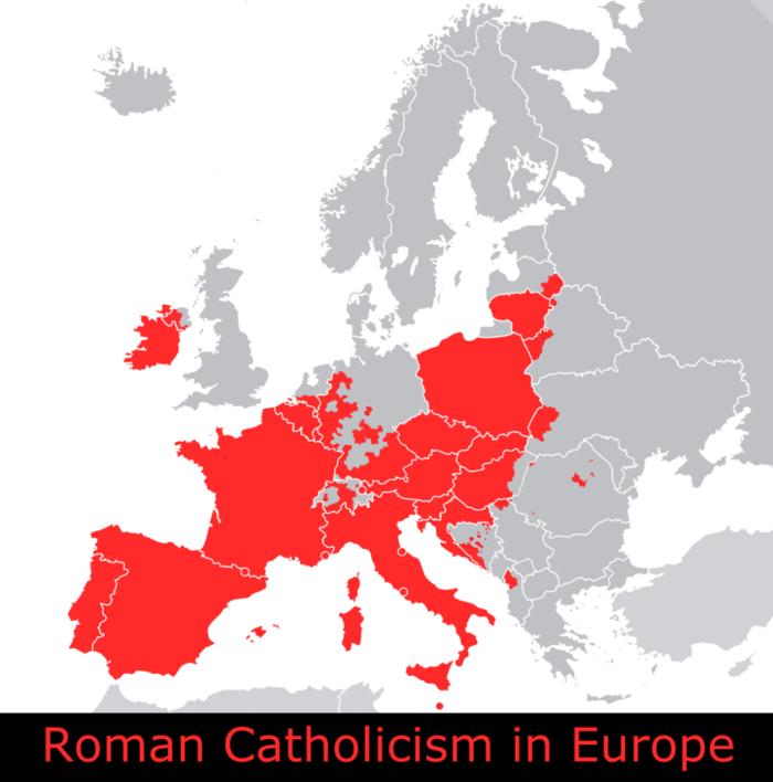 Catolicismo en Europa.