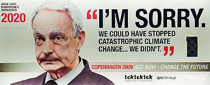 Dentro de 10 años Zapatero y otros líderes lamentarán no haber actuado a tiempo contra el cambio climático.