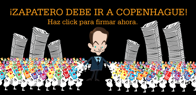 ¡Zapatero debe ir a Copenague!