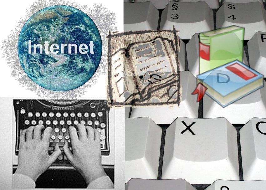 Autoedición vs. Internet
