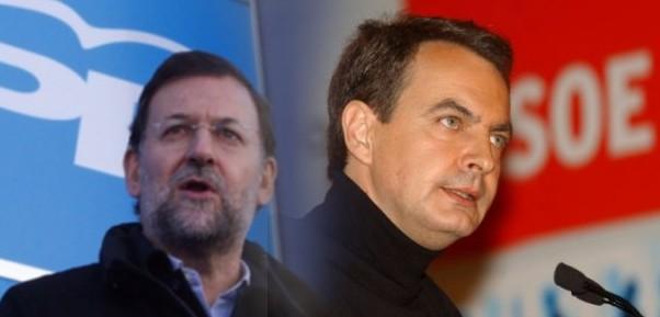 Bipartidismo PP PSOE