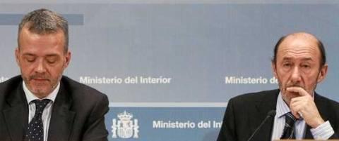 Antonio Camacho y Alfredo Pérez Rubalcaba