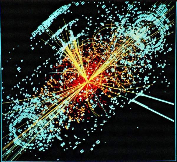 Simulacion de detección de una partículas Higgs