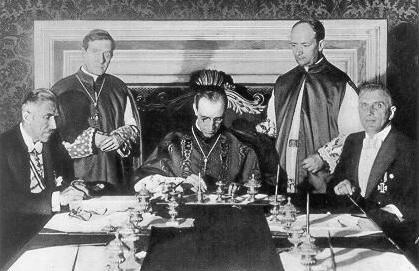 Concordato de Hitler con La santa Sede.
