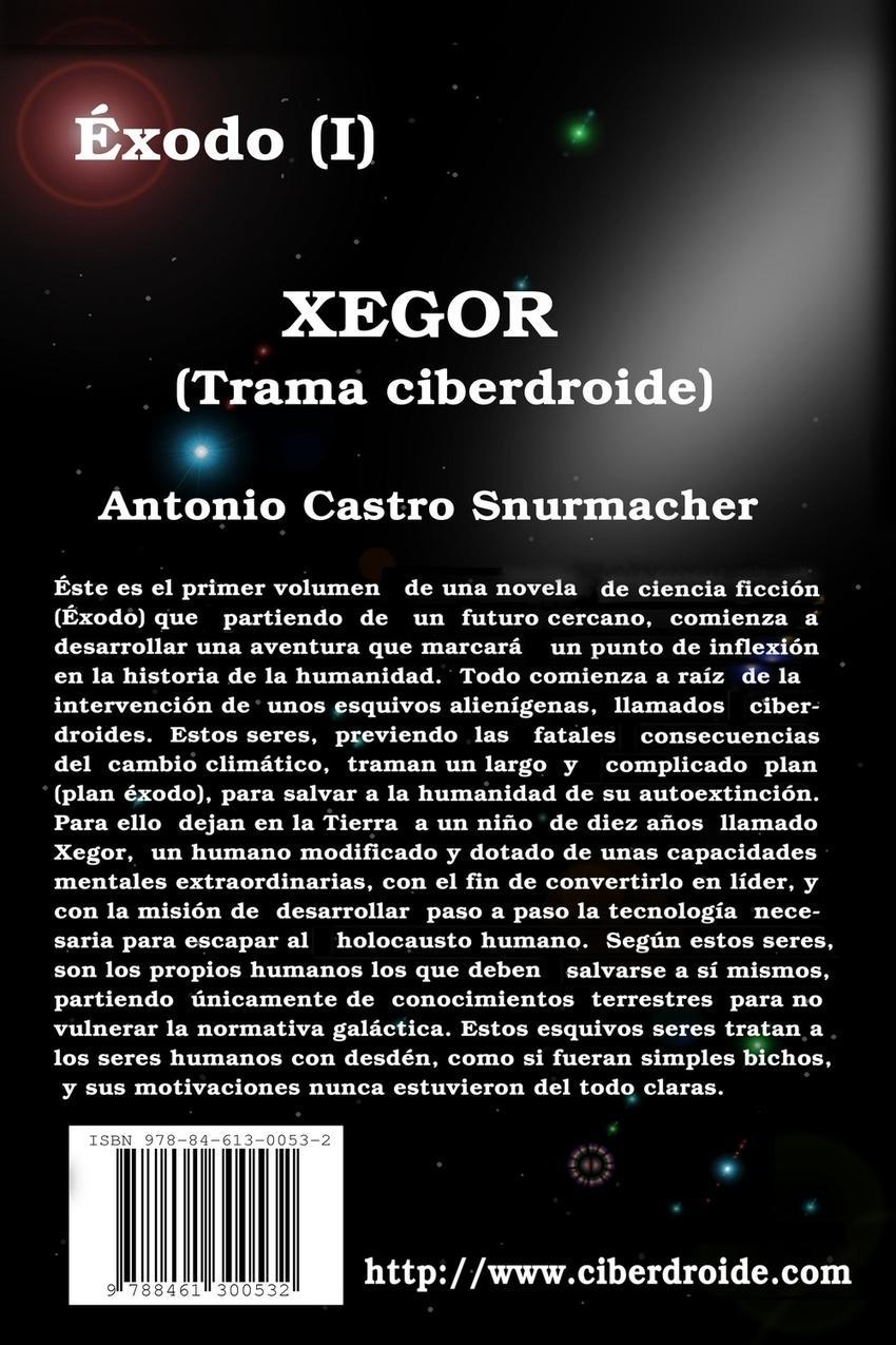 Contraportada exodo vol1 Xegor. con ISBN