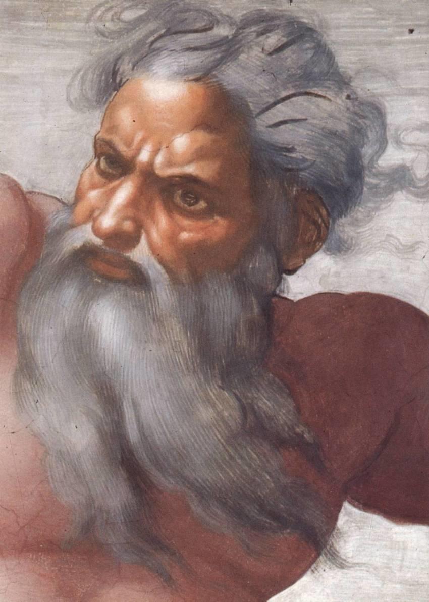 Dios, Según Miguel Ángel