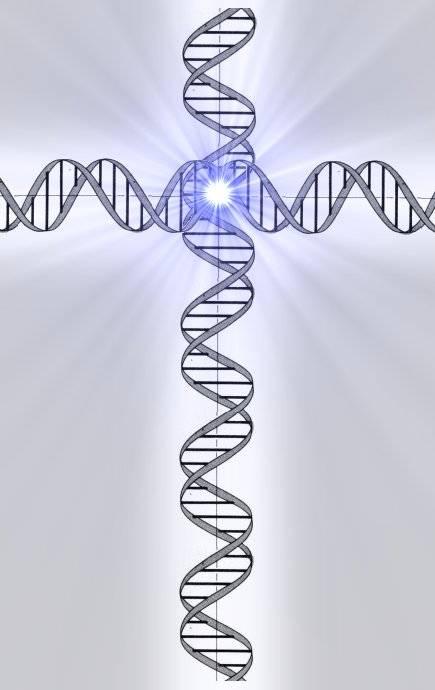 Crucifijo de ADN