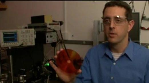 Disco óptico Holográfico de general Electric (500GB)