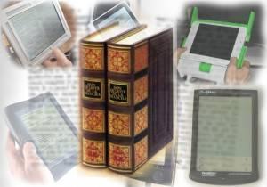 El libro en papel frente al e-book