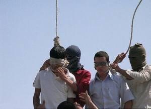 Ejecución de homosexuales en Irán