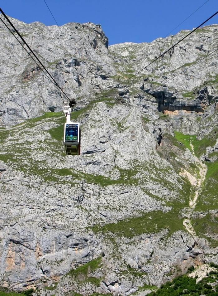 Teleférico de Fuente Dé. (Picos de Europa)