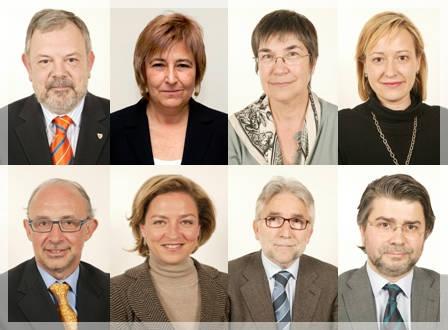Los 8 diputados que pueden aprobar o rechazar el borrador de la Ley Sinde.