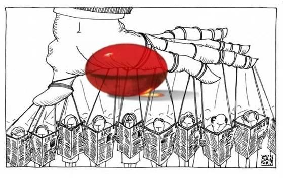 Pastilla roja. Un eficaz remedio contra la manipulación mediática.