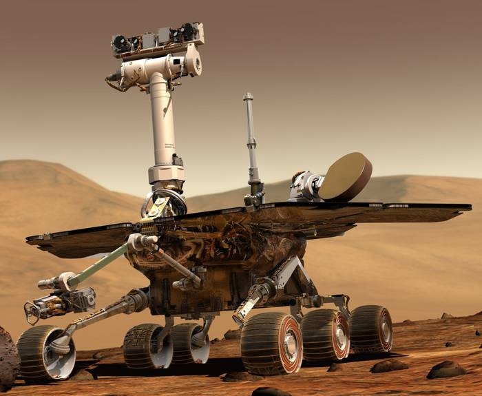 Rover marciano tipo (Opportunity, Spirit)