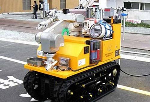 Robot usado en Fukushima.