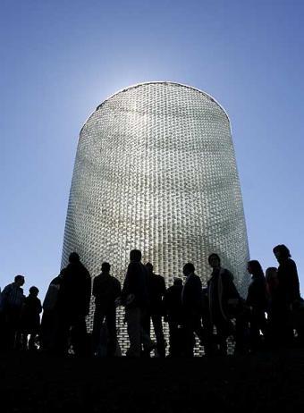 Monumento a las víctimas del 11-M en Atocha.
