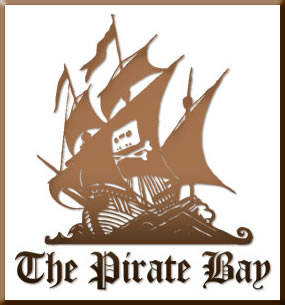 Logo de Pirate Bay.