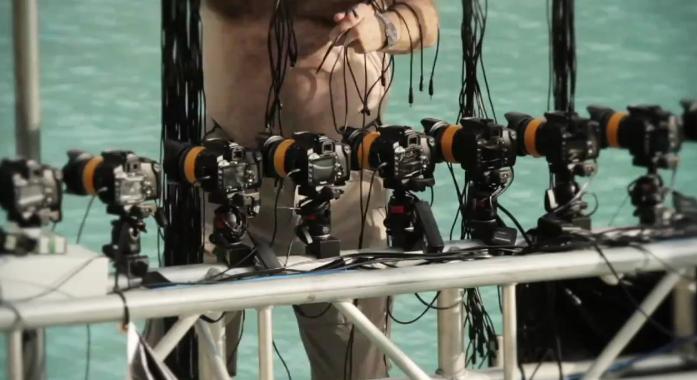 Baterías de 52 cámaras para Time Slice.