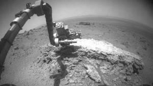 Extraña roca descubierta reciéntemente por el Opportunity