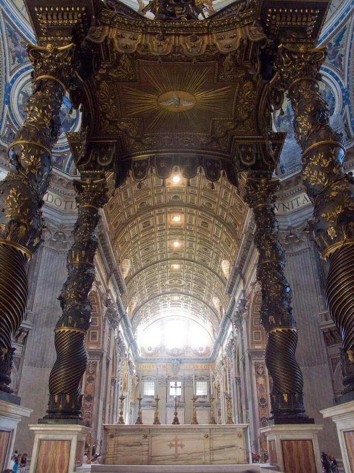 Basílica de san pedro en el vaticano